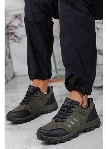 Muggo  Men Su Ve Soğuk Geçirmez Outdoor Erkek Ayakkabı Haki